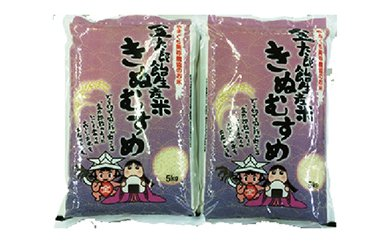 美祢産金太郎生産米「きぬむすめ」10kg