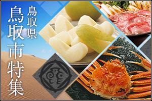 鳥取県鳥取市の返礼品一覧ページ