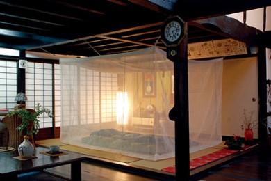 本麻 からみ織 菊屋の蚊帳