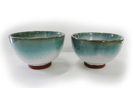 大谷焼 夫婦飯茶碗