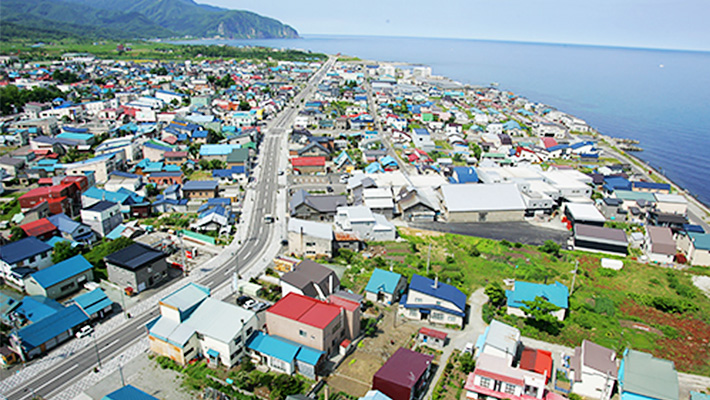 北海道増毛町