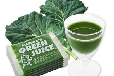 MASUDAの冷凍青汁グリーンジュース(ケール100%青汁)