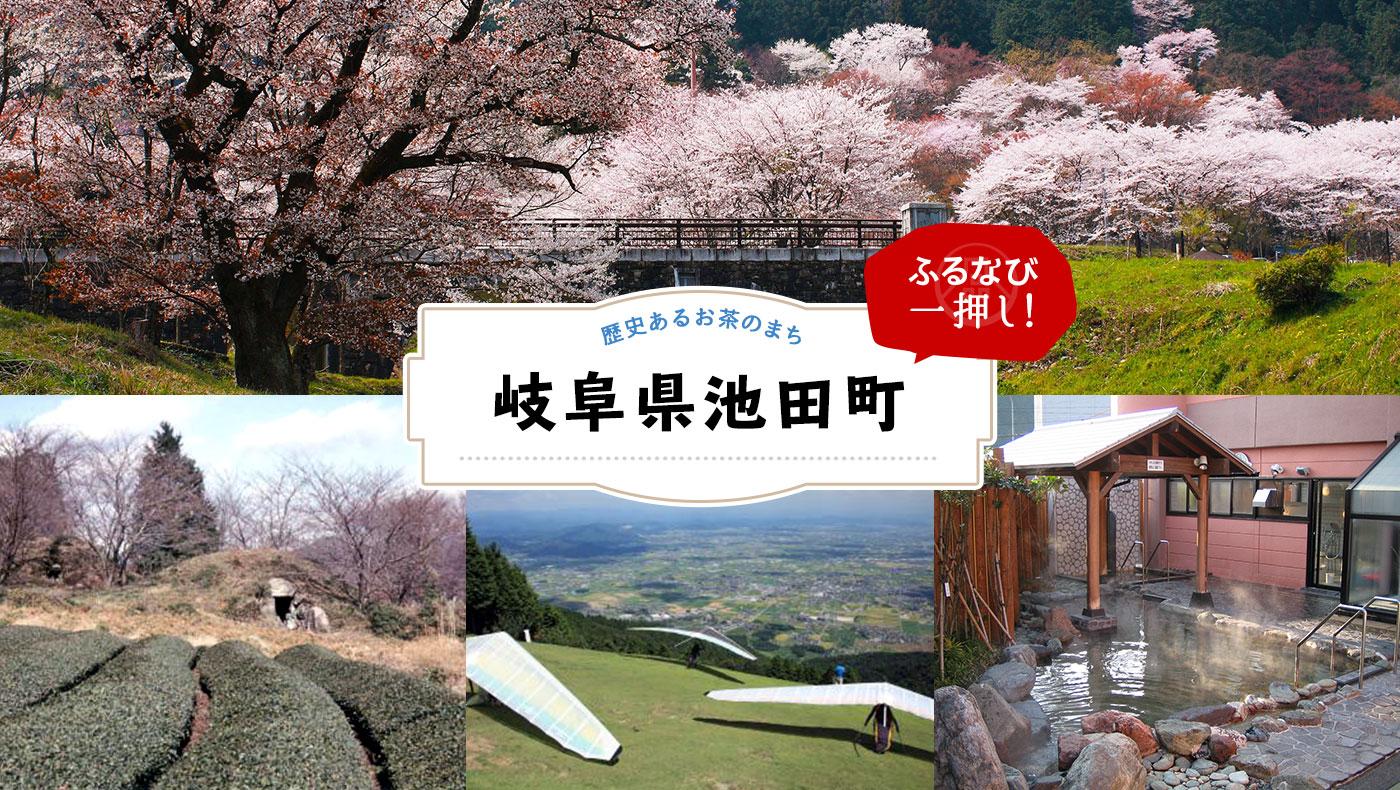 【ふるなびイチ押し】「池田山とお茶」のまち!岐阜県池田町をご紹介