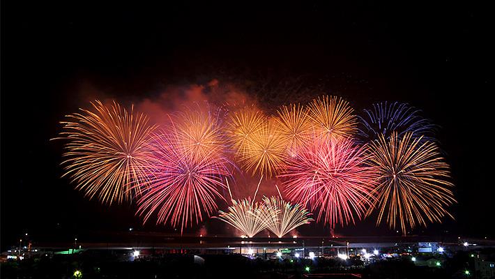 焼津市の花火
