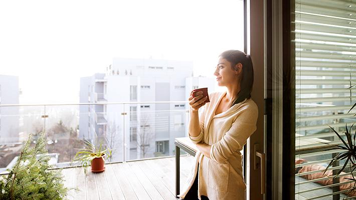 コーヒーとリラックス
