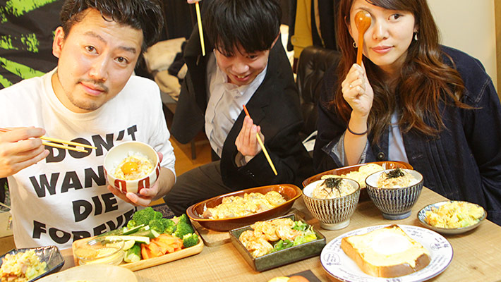 マヨネーズ料理とメンバー