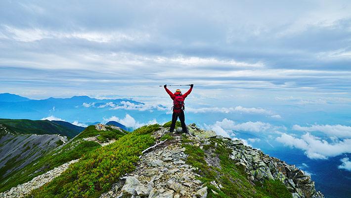 体を動かそう!山を体感できるプログラム