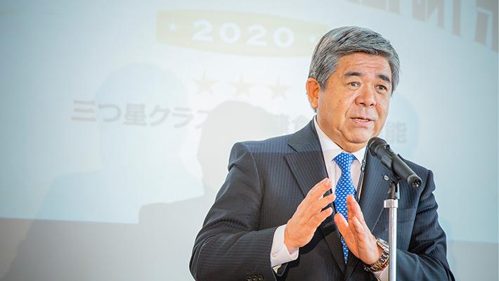 北海道白糠町「ふるさと納税感謝祭2020」挨拶風景