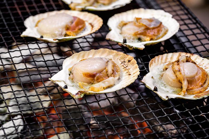 ホタテ貝柱のおいしい焼き方
