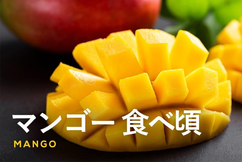 美味しいサインを見逃さないで!マンゴーの食べ頃の見分け方と保存方法を解説