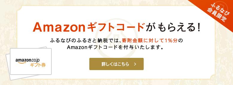 ふるなび Amazonギフトコードプレゼントキャンペーン