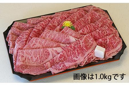 【3ヶ月定期便】近江牛ロース赤身スライス (もも、かた)0.6kg[0181]