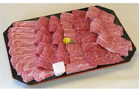 【3ヶ月定期便】近江牛カルビ・もも焼き肉 2.0kg