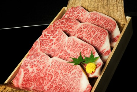 近江牛A5ランクロースすき焼き 1kg・サーロインステーキ 1kg (250g×4枚)セット [0090]
