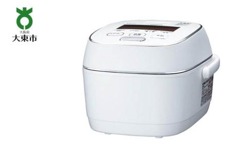 象印圧力IH炊飯ジャー「炎舞炊き」NWPS10-WZ 5.5合炊き 粉雪