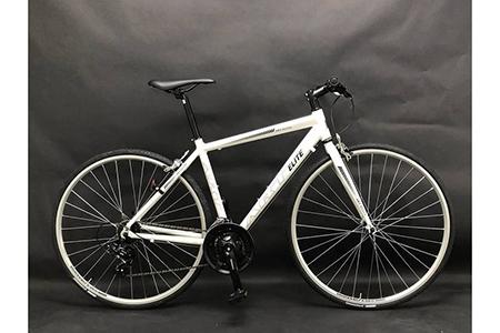 【ホワイト】フレームサイズ465mm / 自転車 ロードバイク クロスバイク スポーツバイク