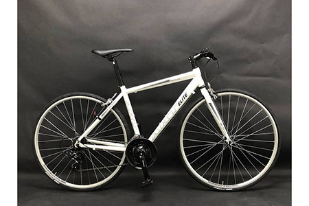 【ホワイト】フレームサイズ500mm / 自転車 ロードバイク クロスバイク スポーツバイク