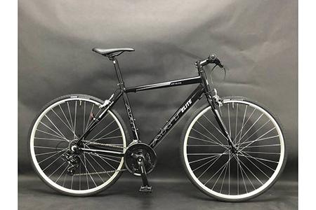 【ブラック】フレームサイズ500mm / 自転車 ロードバイク クロスバイク スポーツバイク