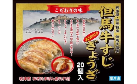 但馬牛すじぎょうざ(20個入り×2箱)