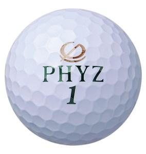 ブリヂストン ゴルフボール PHYZ 2ダース 【色ホワイト】
