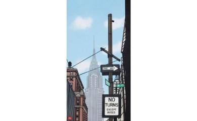 久保修ジクレー版画15 5th Ave.(ニューヨーク)