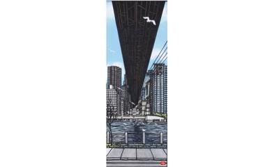 久保修ジクレー版画20 光と影(ニューヨーク)