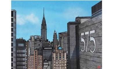 久保修ジクレー版画11 buildings,NY