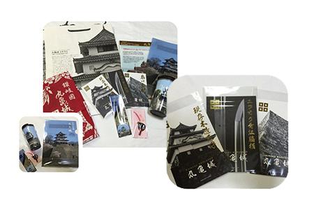 丸亀城オリジナルグッズセット