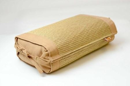 草木染め小枕