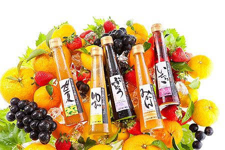 毎日飲める!「蜂蜜専門店の果実酢」 200ml×3本