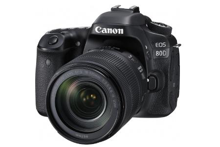 一眼レフカメラ CANON EOS 80D EF-S18-135 IS USM LENS KIT