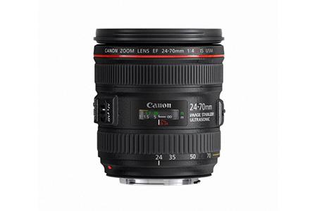 キヤノン交換レンズ EF24-70/F4L IS USM