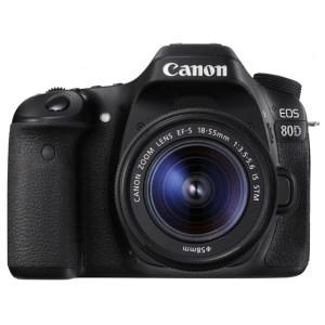 キヤノン一眼レフカメラ(EOS80D(W) EF-S18-55 IS STM レンズキット)