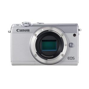 キヤノンミラーレスカメラ(EOSM100ボディ・ホワイト)