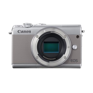 キヤノンミラーレスカメラ(EOSM100ボディ・グレー)