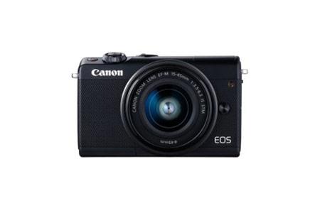 キヤノンミラーレスカメラ(EOSM100 EF-M15-45 IS STM レンズキット・ブラック)