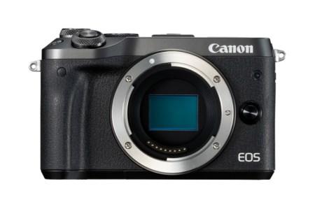 キヤノンミラーレスカメラ(EOSM6ボディ・ブラック)