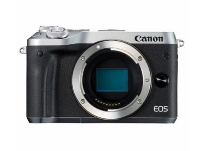 キヤノンミラーレスカメラ(EOSM6ボディ・シルバー)