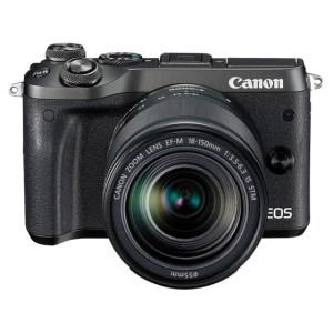 キヤノンミラーレスカメラ(EOSM6 EF-M18-150 IS STMレンズキット・ブラック)