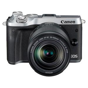 キヤノンミラーレスカメラ(EOSM6 EF-M18-150 IS STMレンズキット・シルバー)