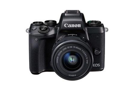 キヤノンミラーレスカメラ(EOSM5 EF-M15-45 IS STMレンズキット)