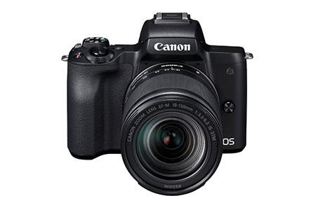 キヤノンミラーレスカメラ(EOS Kiss M EF-M18-150 IS STM レンズキット ・ブラック)
