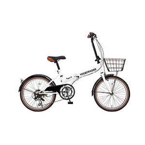 フォルクスワーゲン 20インチ折畳自転車(6S)