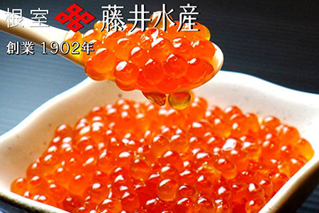 【北海道根室産】<鮭匠ふじい>いくら醤油漬250g×2P