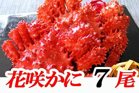 北海道根室産 花咲ガニ7尾(計3.5kg以上)