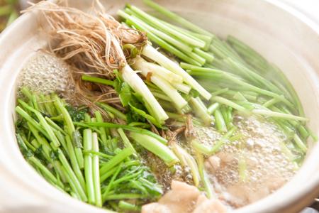 名取名産 美味なる根っこを食す「せり鍋セット」【今季の受付を始めました!】