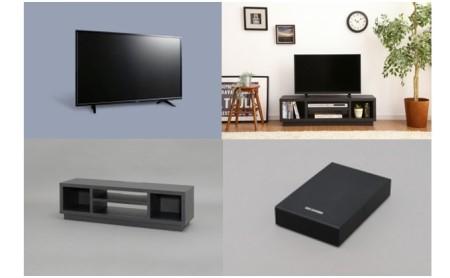 液晶テレビ(4K) 43インチ・AVボード・ハードディスク セット