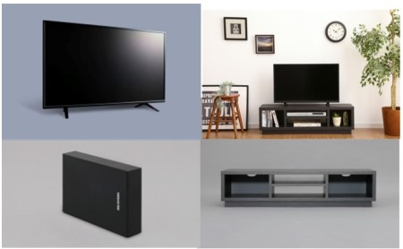 液晶テレビ(4K) 49インチ・AVボード・ハードディスク セット