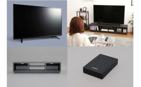 液晶テレビ(4K) 55インチ・AVボード・ハードディスク セット