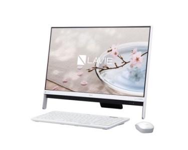 NEC LAVIE Direct DA(S) 【2017年春モデル】 23.8型液晶搭載の一体型デスクトップ
